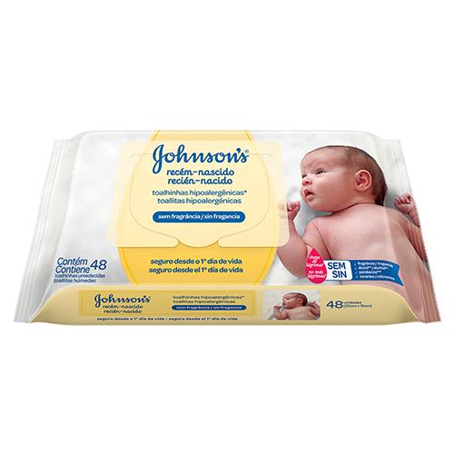 Baño De Tina Al Recien Nacido:Toallitas Húmedas Recién Nacido JOHNSON'S® baby