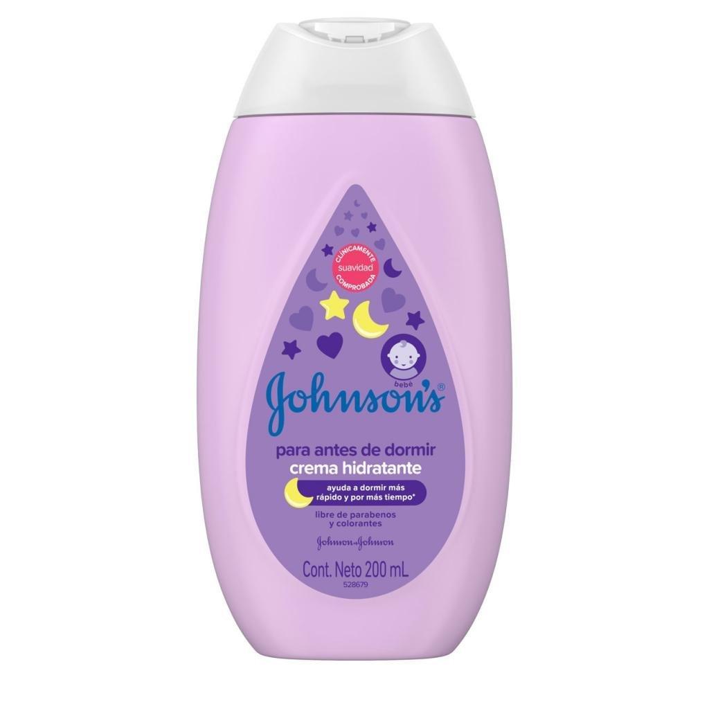 JOHNSON'S® baby crema líquida para antes de dormir