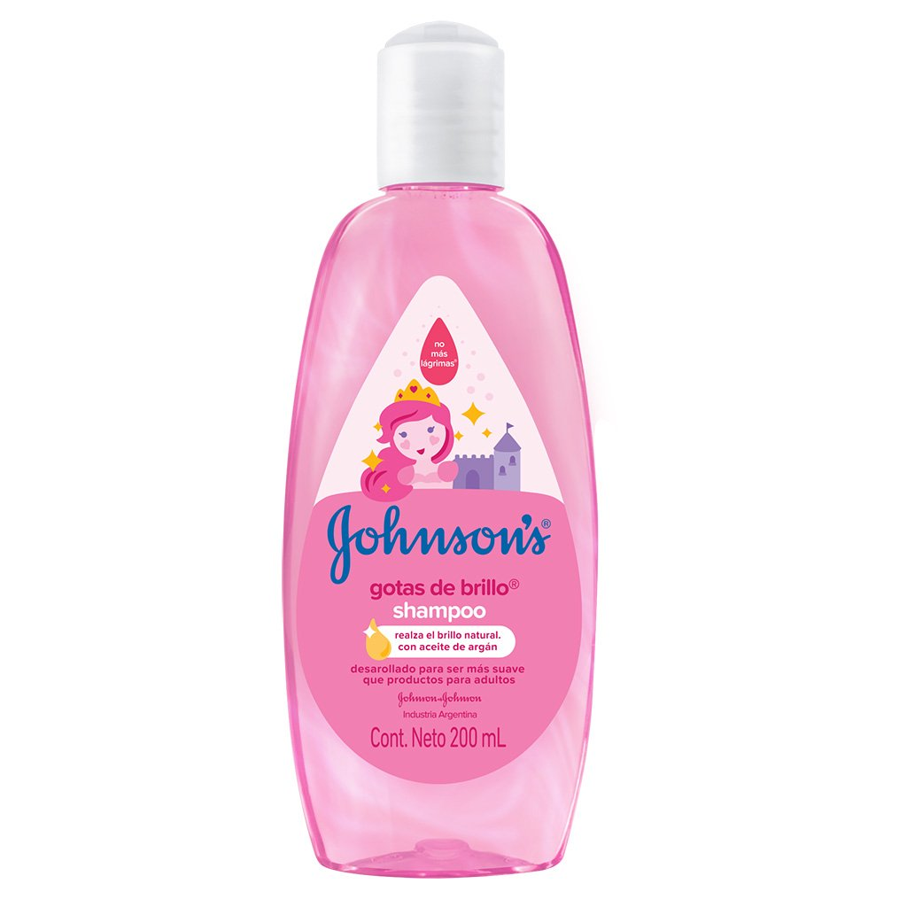 Shampoo Gotas de Brillo® JOHNSON'S®