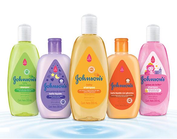 Familia de productos Johnson's Baby