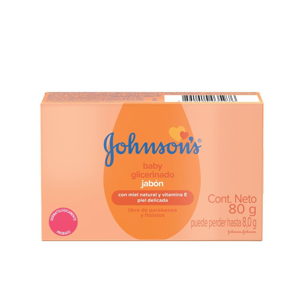 Jabón Glicerina JOHNSON'S®