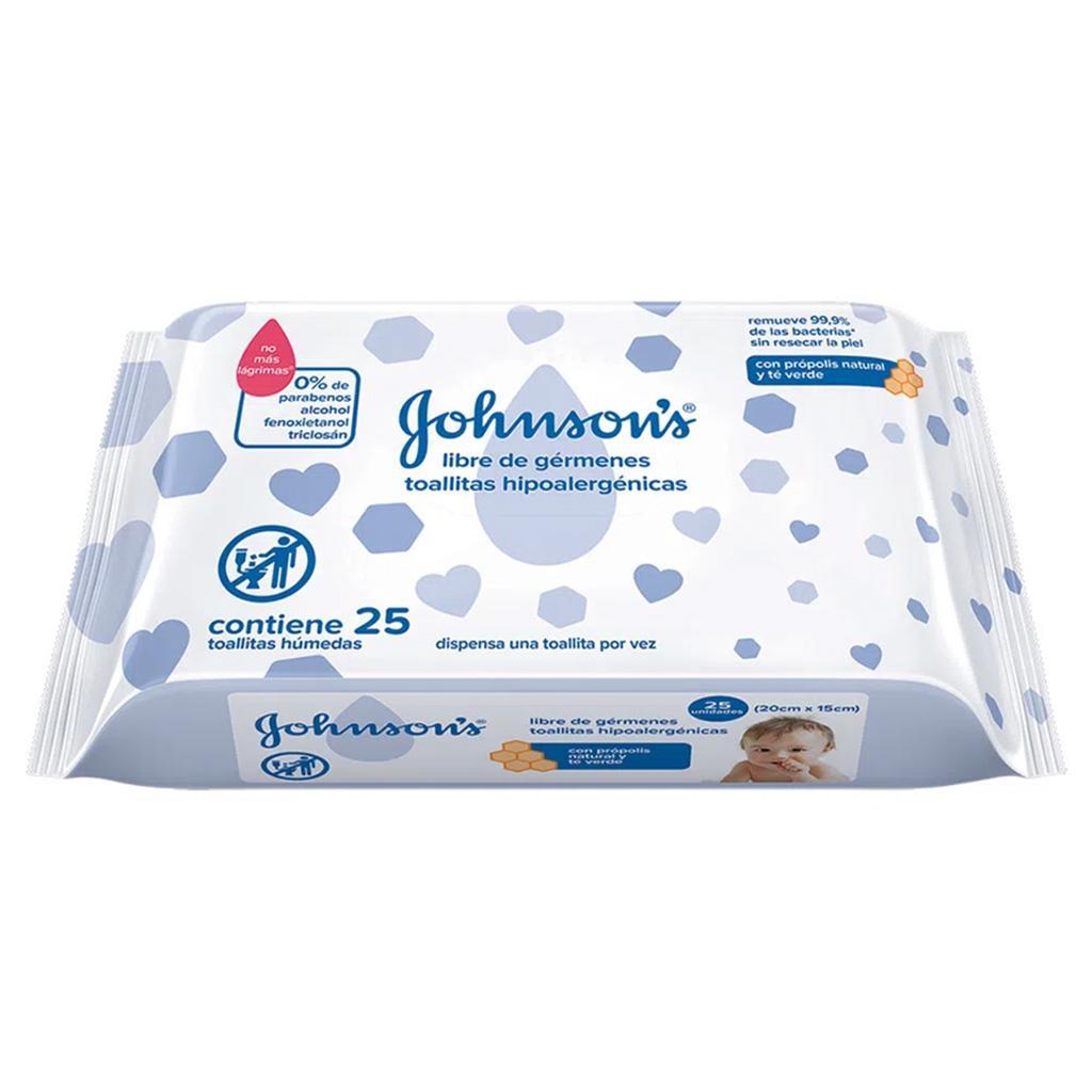 Toallitas Húmedas Libre de Gérmenes JOHNSON'S® baby