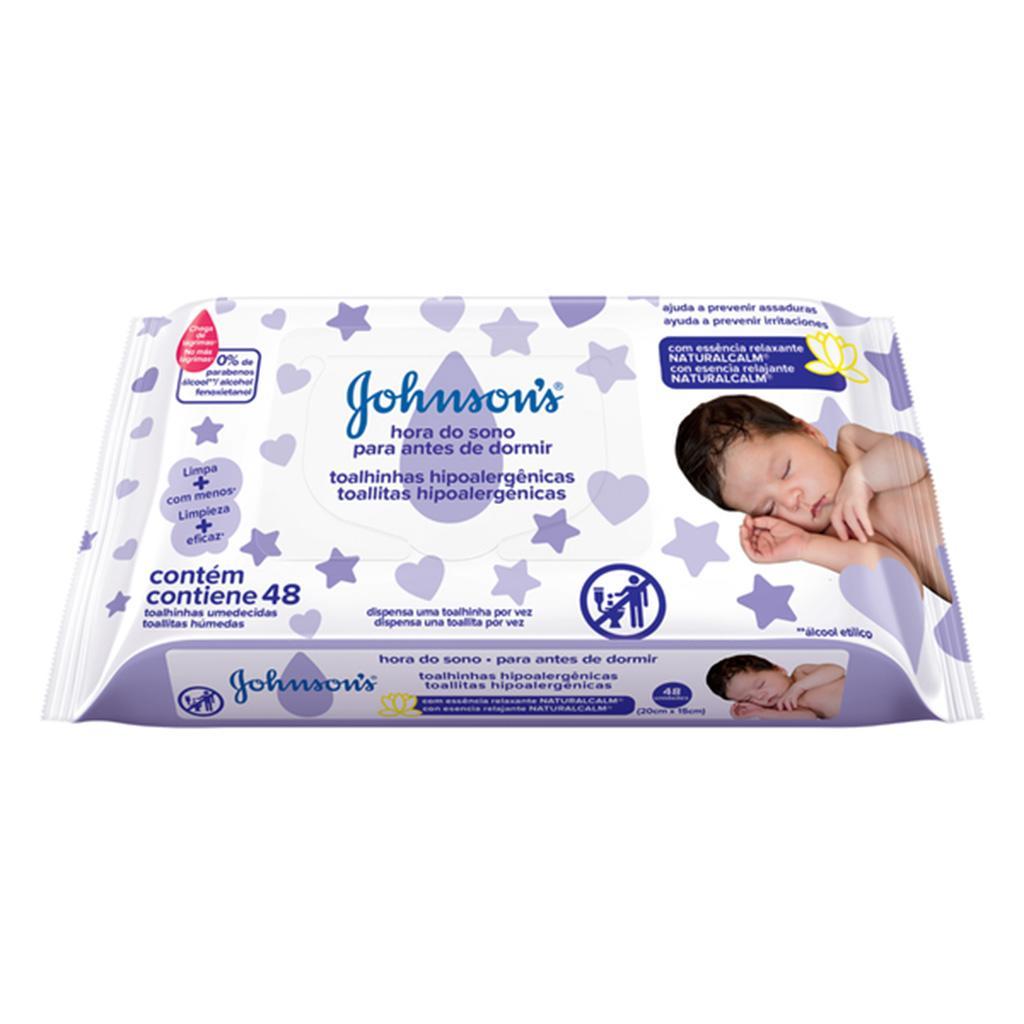 Toallitas húmedas Antes de dormir JOHNSON'S®